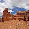 HOODOO'S IN CAPITOL REEF NATIONAL PARK.