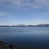 LAKE TAHOE FROM THE NEVADA SIDE.