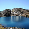 HELEN LAKE IN THE TWENTY LAKES AREA IN INYO NATIONAL FOREST, CALIFORNIA.