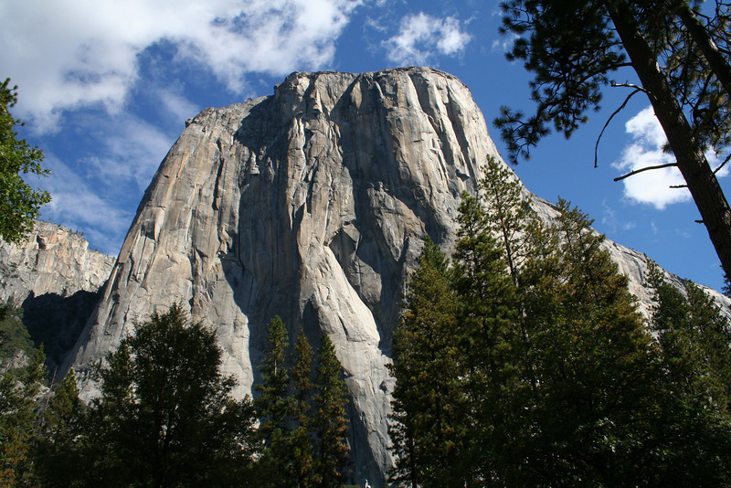 WORLD FAMOUS EL CAPITAN IN YOSEMITE.