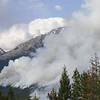 FIRE IN KOOTENEY NATIONAL PARK, BRITISH COLUMBIA