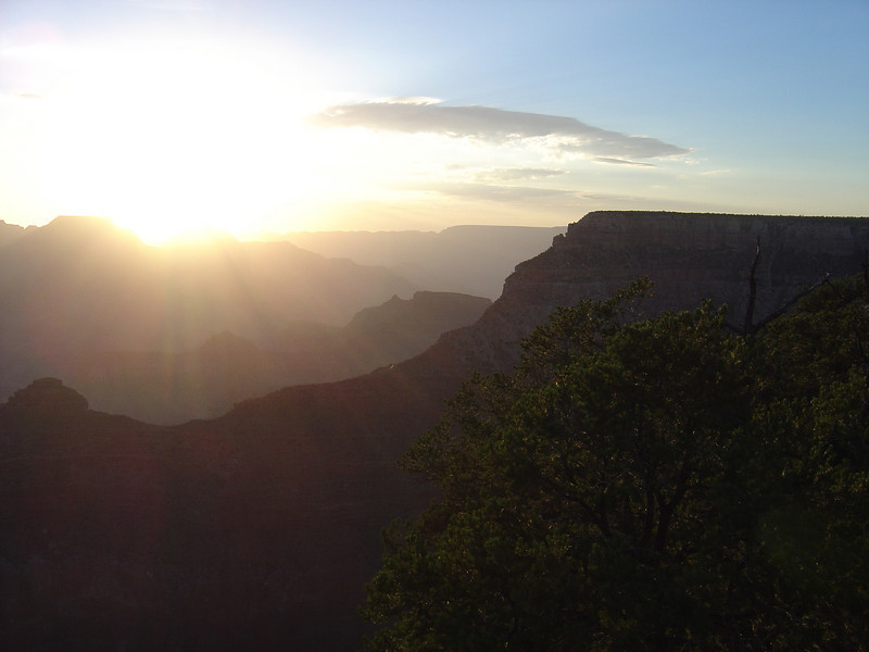 A GRAND CANYON SUNRISE.
