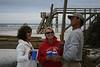 TANYA, SARAH, & TIM AT ST. AUGUSTINE BEACH NEW YEARS 08.