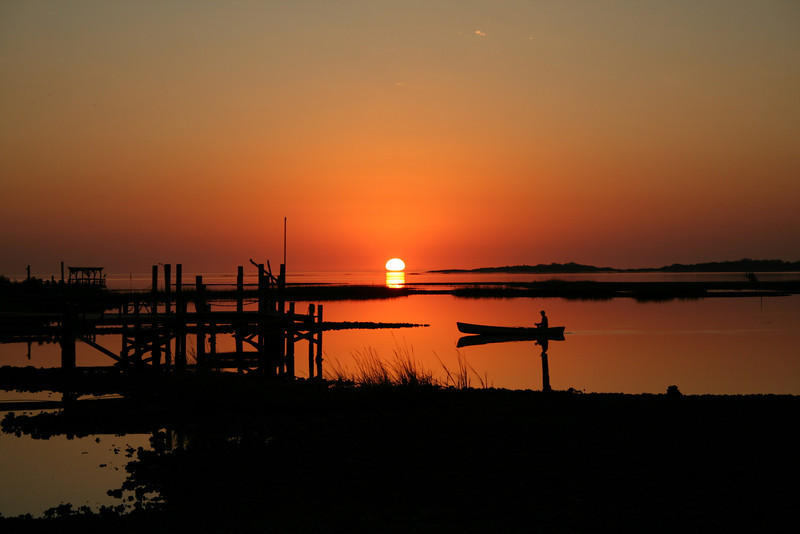 Sunset on Cedar Key, Florida