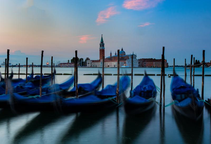 Gondolas; Piazza San Marco