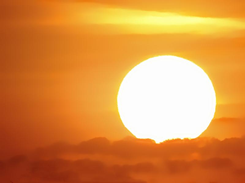 ONE EVENING SUNSET