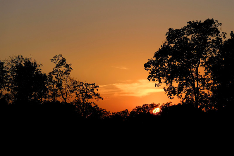 Sunset - 7 pm (78mm)