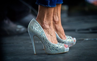 GETTY IMAGES: HIGH HEELS