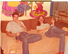 CHRIS THROOP & ME WITH A FAKE MUSTACHE ABOUT 1977