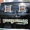 Hand painted custom van. Bought new in 1977, now has 43,000 miles on it.