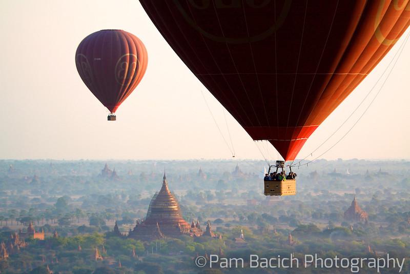 Balloons over Bagan 1