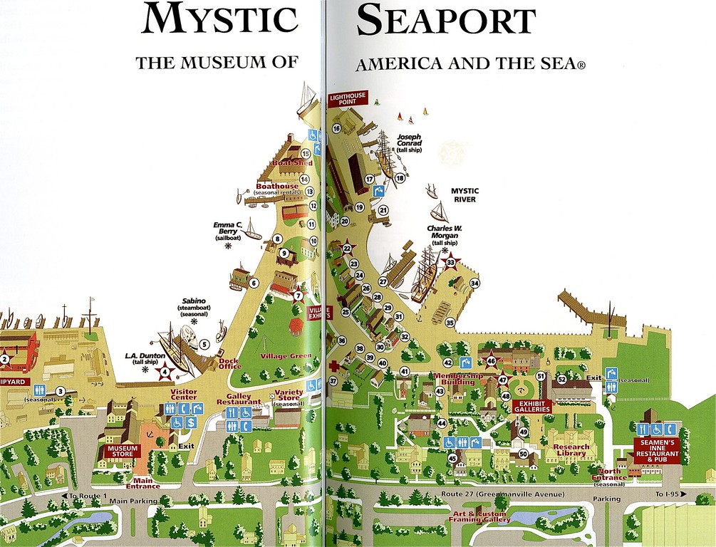 Map of Mystic Village