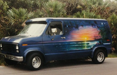 "Gerson's ""Van Artwork"" (Murals etc.)"