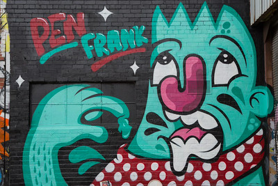 Day 214: Street art (Ann Street, Brunswick)