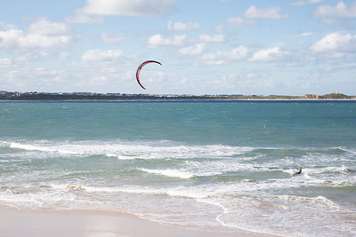 Day 287: A very windy day, perfect for kite surfing
