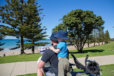 Day 250: Our annual Father's Day bike ride (although we weren't all riding this year)