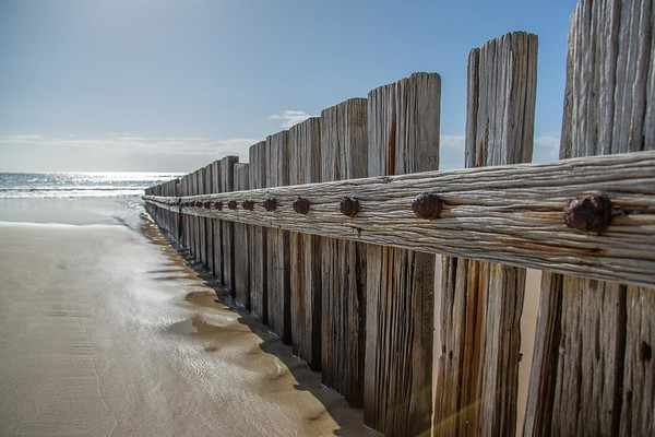 Day 350: Fencing in the sand