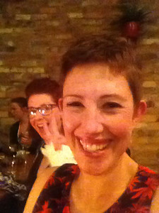 Day 235: My first and last selfie (photo-bombed!)