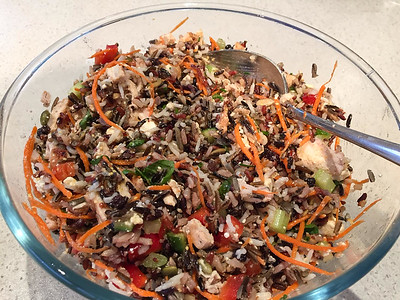 Day 326: Delicious Wild Rice and Chicken Salad