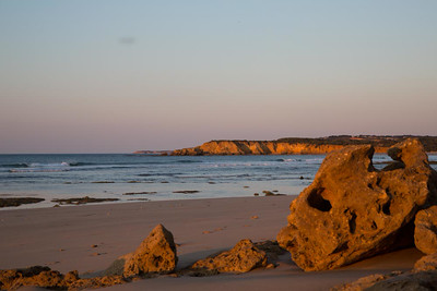 Day 271: Early morning at Back Beach, Torquay