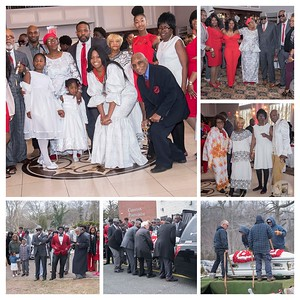 Ma Nancy Greene Nortey's Wake/Home going Service Photos.