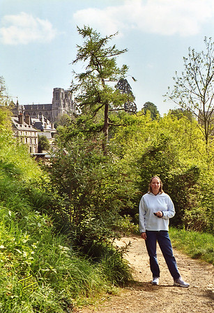 Avranches 2003 - Judy et Notre Dame
