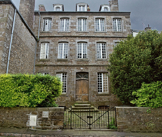 Avranches - La Vieille Ville 2003 - Rue d'Auditoire - Haunted House