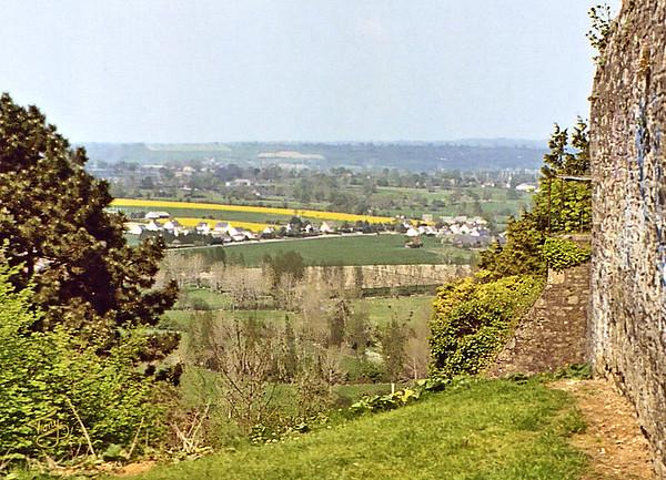 Avranches 2003 - depuis les Remparts sur Saint-Jean-de-la-Haize