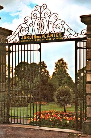 Avranches 2002 - Jardin des Plantes