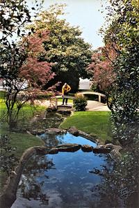 Avranches 2002 - Jardin des Plantes - Judy au Ruisseau