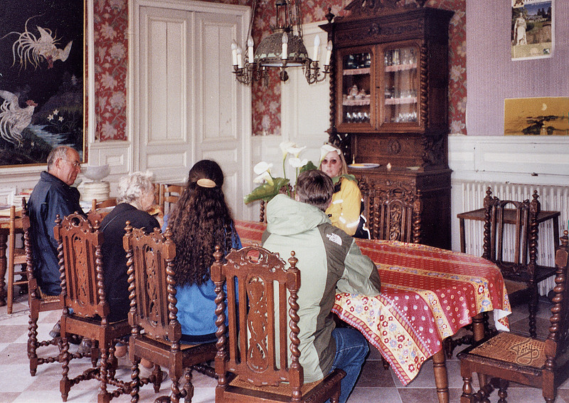 Avranches 2002 - Les Mares - Dining Room