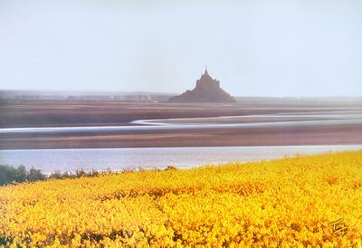 View of le Mont-Saint-Michel from le Grouin du Sud 2002