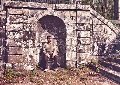 Abbaye de la Lucerne 2003 - Erik sur le Trône