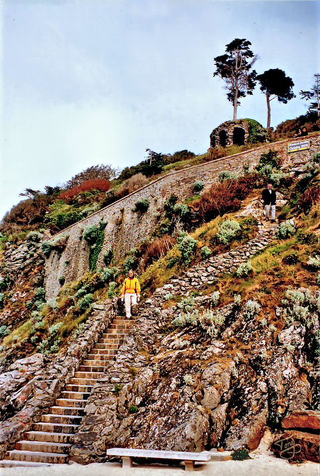 Hiking from Donville-les-Bains to Granville 2002
