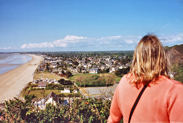Carolles-Plage 2002 - View from the Vauban Trail