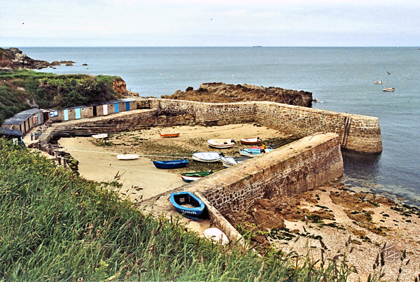 Le Cotentin 2004 - Port Racine - reputedly the world's smallest port