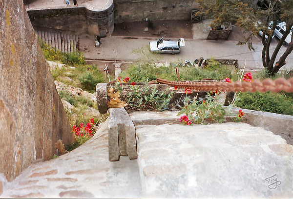 Mont-Saint-Michel 2002 - Supply Ramp