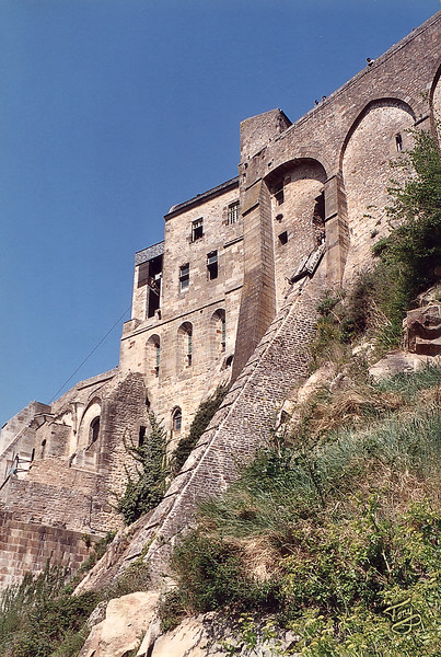 Mont-Saint-Michel 2003 - Supply Ramp