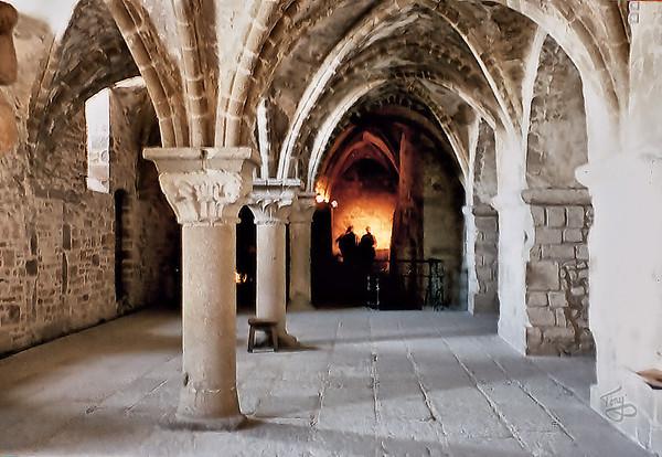 Mont-Saint-Michel 2002 - Crypt