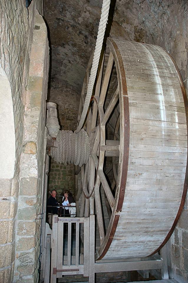 Mont-Saint-Michel 2006 - Treadmill