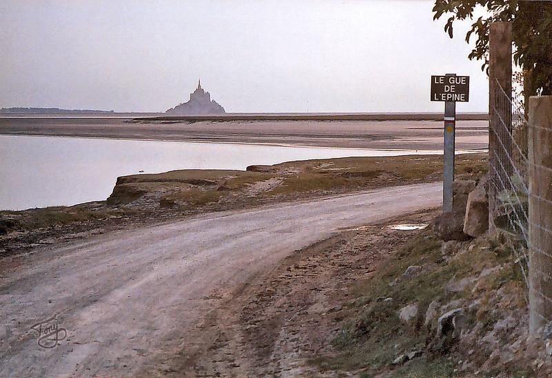 Le Val-Saint-Père 2003 - Le Gué de l'épine - Mont-Saint-Michel in Background