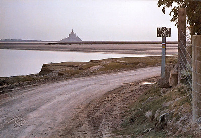 Le Val-Saint-Père 2003 - Le Gué de l'épine - Mont-Saint-Michel in Background