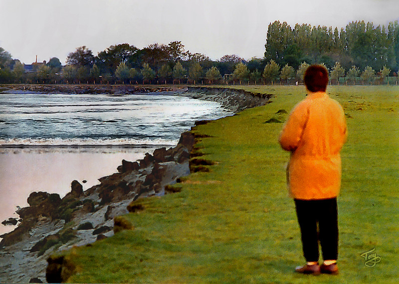 Le Val-Saint-Père 2003 - le Mascaret au Gué de l'Épine