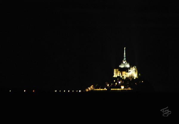 Le Val-Saint-Père - le Gué de l'Épine 2006 - le Mont-Saint-Michel Allumé