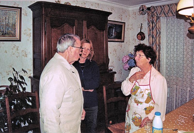 2004 - Papa, Christine, et Rolande