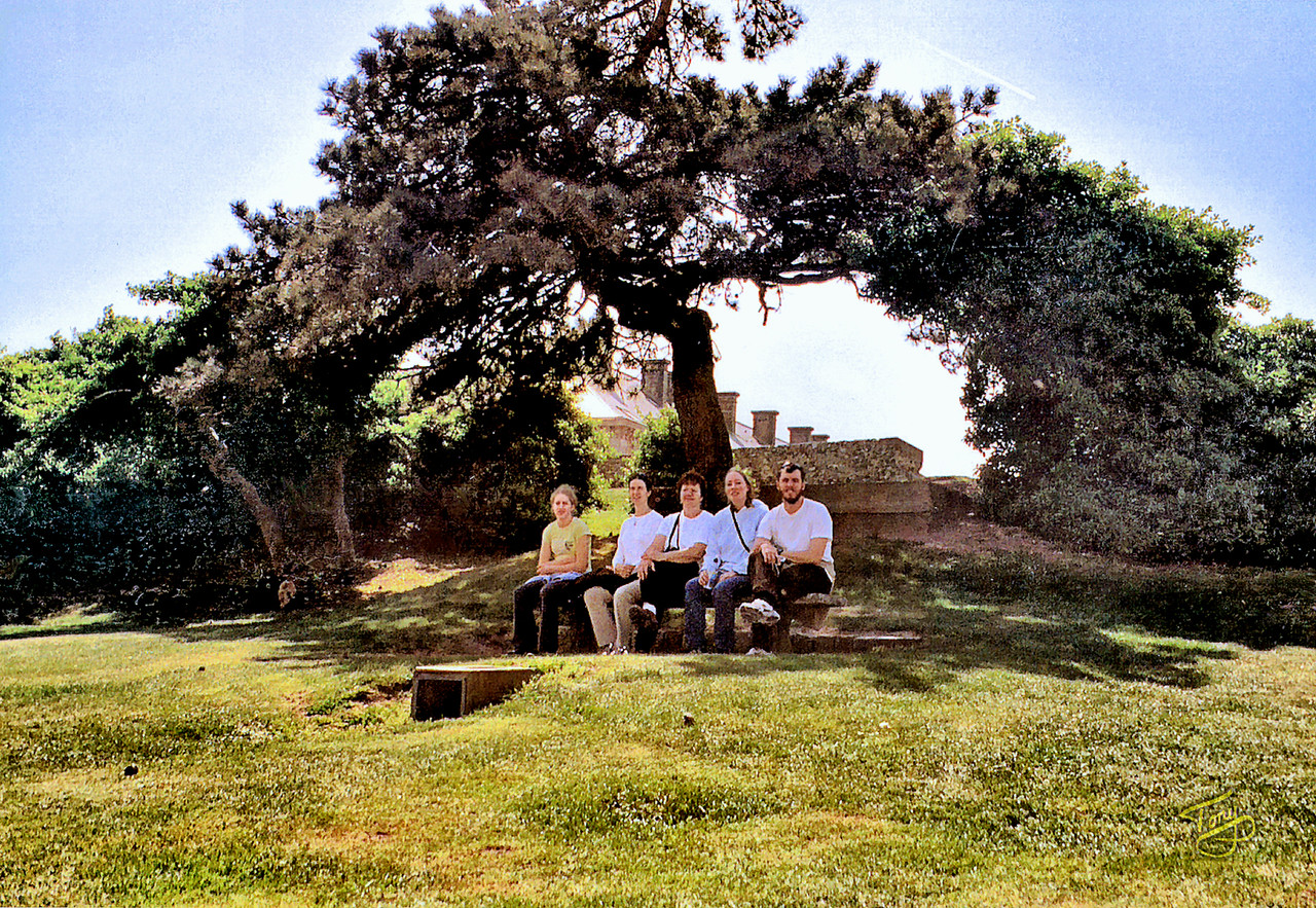 Granville 2003 - Mel, Jess, Betty, Judy, and Erik