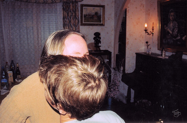 2004 - Judy Gets a Kiss from Nolwen
