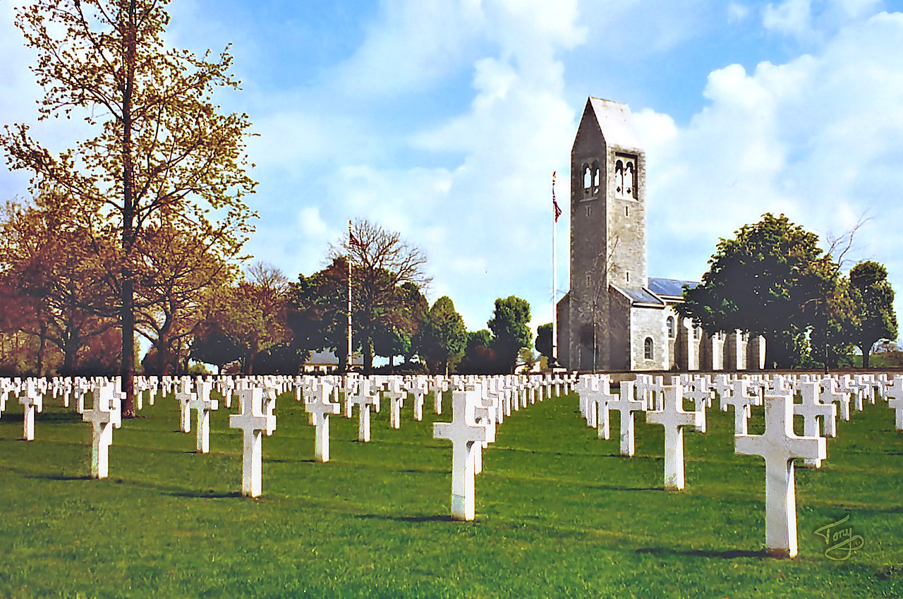Saint-James 2002 - Brittany American Cemetery