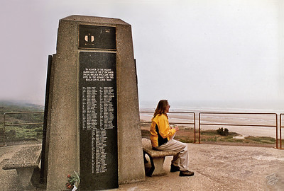 Omaha Beach 2002 - 5th Engineers Memorial