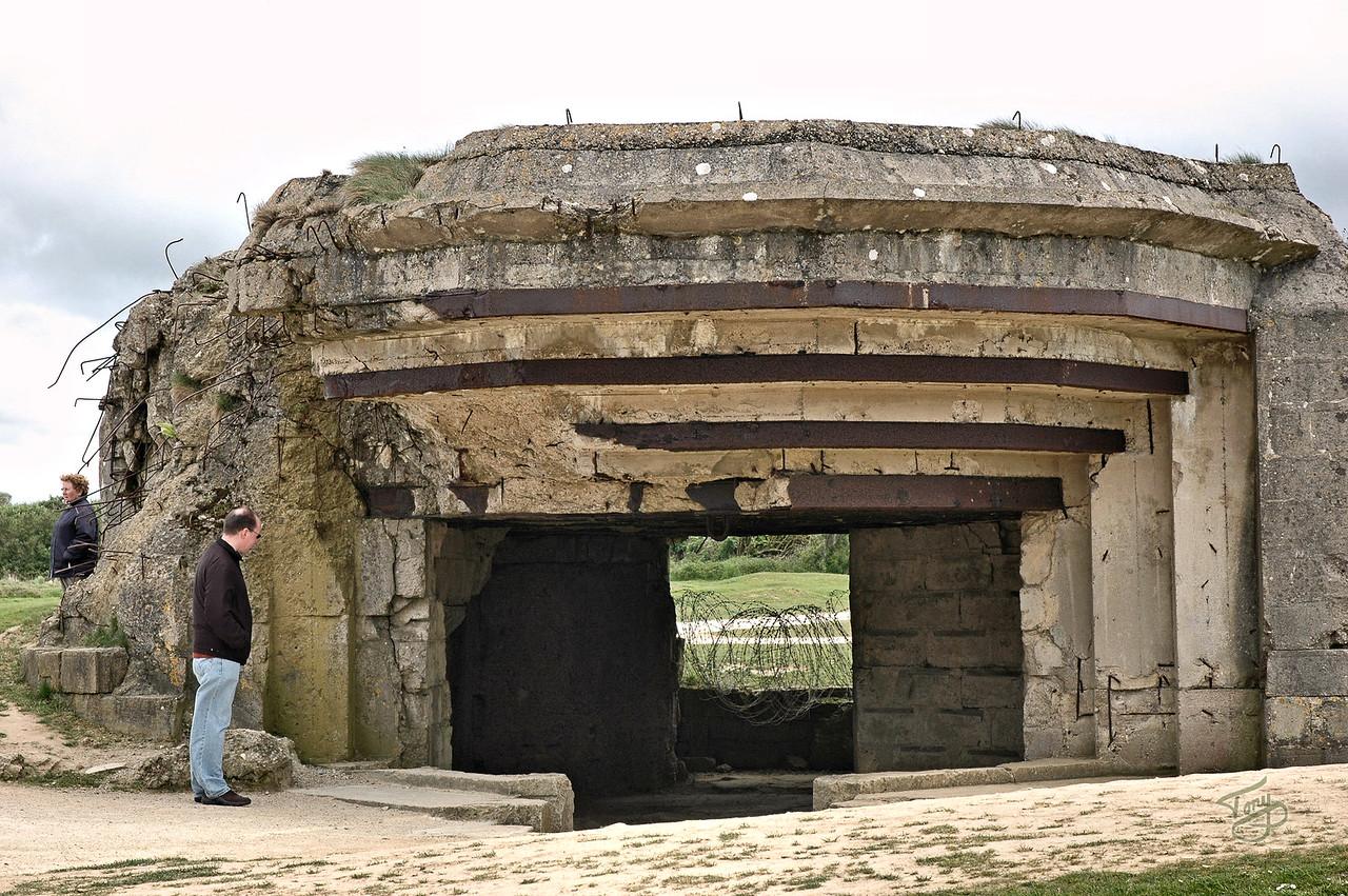 Pointe-du-Hoc 2006 - German Bunker
